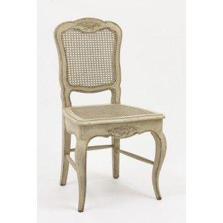 French Country Cane Chair Muebles antiguos de reproducción ...