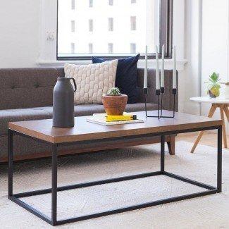 Mesa de centro de madera maciza Renna