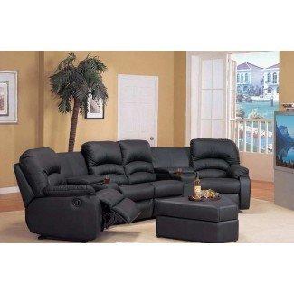 Sofás seccionales reclinables pequeños Sofás cama Diseño Ealing ...