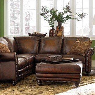 Sofás: impresionantes sofás seccionales pequeños con sillón reclinable Pequeño ...