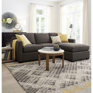Sofás: impresionantes pequeños sofás seccionales con sillón reclinable ...