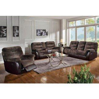 Las mejores reseñas de sofás reclinables: reclinable seccional ...