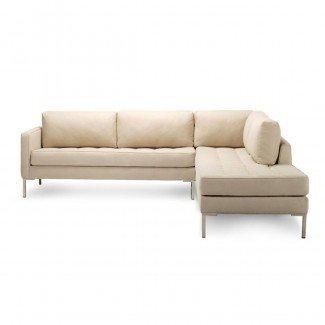 Sofá seccional moderno pequeño   Muebles para el hogar
