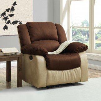 El sillón reclinable más cómodo es la silla Daddy's - Bed-Bath ...