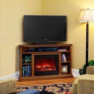 Top 5 soportes de TV de chimenea eléctrica de esquina por menos de $ 500