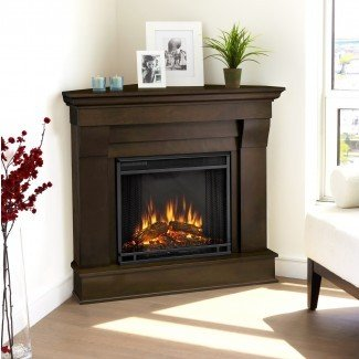 Inspirations: Beautiful Corner Fireplace TV Stand For ...