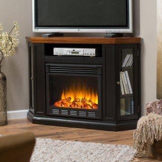 Chimeneas de esquina Soporte de TV. Dimplex Electric Fireplace Tv ...