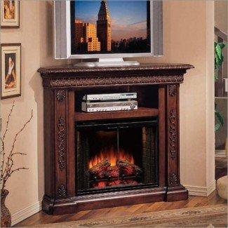 Ideas de decoración, TV sobre chimeneas, chimeneas dentro ...