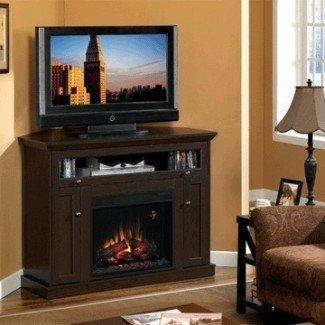 Chimenea y chimenea eléctrica de esquina Classic Flame Windsor ...