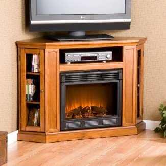 SEI Media Corner Soporte de TV Chimenea eléctrica FA9317E | eBay