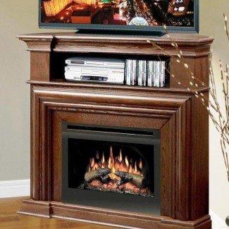 El mejor soporte de TV para chimenea eléctrica de esquina - Chimeneas para el hogar ...