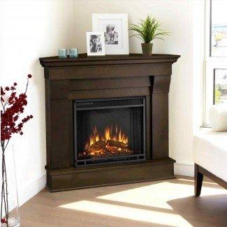 Habitación de chimenea de gas de esquina Ideas de diseño fantástico Fotos ...