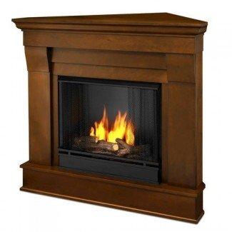 Real Flame Chateau Corner Ventless Gel Fireplace en Menards®