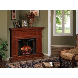 Artesian Cherry Corner Electric Fireplace :: Factory ...