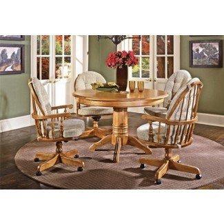 Sillas de mesa de comedor con ruedas - sillas de comedor en ...