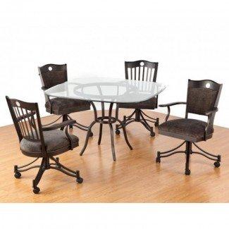 We Dining Chairs With Casters Swivel - Diseño de todas las sillas