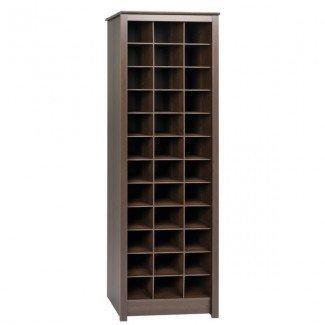 Gabinete de almacenamiento de zapatos con tres puestos de ahorro de espacio y comentarios ...