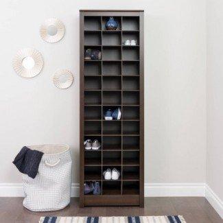 Gabinete de almacenamiento de calzado que ahorra espacio, varios colores ...