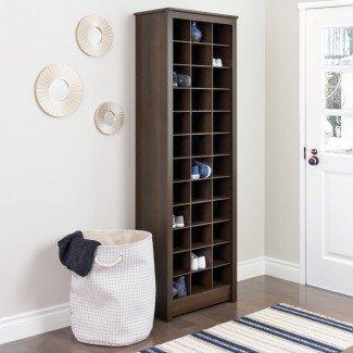 Gabinete de almacenamiento de zapatos con tres postes para ahorrar espacio y comentarios ...