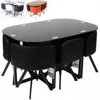 Juego de mesa de comedor de gran tamaño para comedor