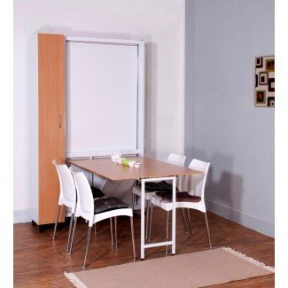 Spaceone Saving Space Single Bed cum Dining Table cum ...