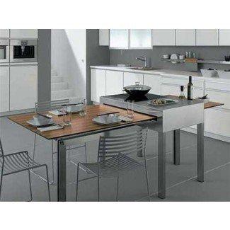 Valor de las mesas de cocina que ahorran espacio | My Home Design