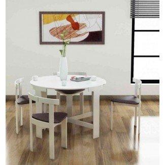 Ideas creativas para mesas de comedor plegables que ahorran espacio ...