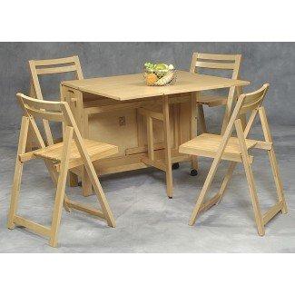 Mesas de comedor de cocina que ahorran espacio. Full Size Of Dining ...
