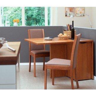Mesa de comedor: mesa de comedor que ahorra espacio