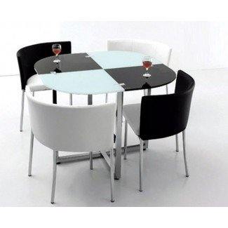 Ideas creativas de mesa de comedor plegable que ahorran espacio ...