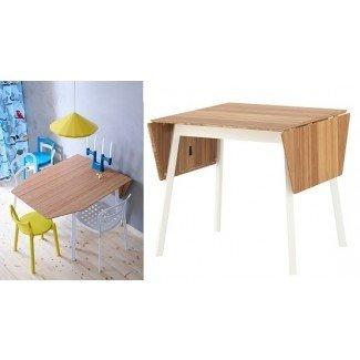 Mesas de comedor que ahorran espacio ikea drop-leaf table | Home ...