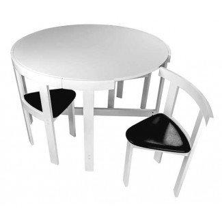 17 Muebles para espacios pequeños: mesas de comedor plegables y