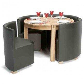 Mesa y sillas de cocina Space Saver - Ideas de decoración Ideas de decoración