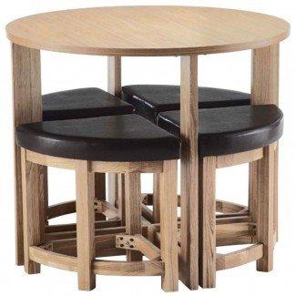 Mesa de comedor Space Saver redonda