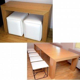 Sin categoría: Mesa y sillas de ahorro de espacio destinadas a ...