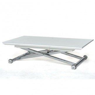 Mesa de centro: mesa de centro ajustable en altura Transformando ...