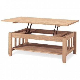 Mesa de centro cuadrada blanca regulable en altura Ikea ...