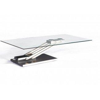 Ponte una mesa de café de altura ajustable