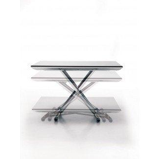 Mesa de centro pequeña rectangular de altura ajustable Ikea con ...