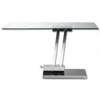 Mesa de centro de vidrio de altura ajustable | Compre mesas de café de vidrio