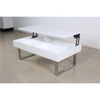 Mesa de centro de altura ajustable Mesa de comedor industrial ...
