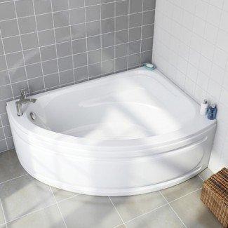 Ideas de bañera para baños pequeños. Impresionante baño pequeño ...
