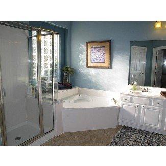 bañera de esquina de baño principal jacuzzi - Búsqueda de Google ...