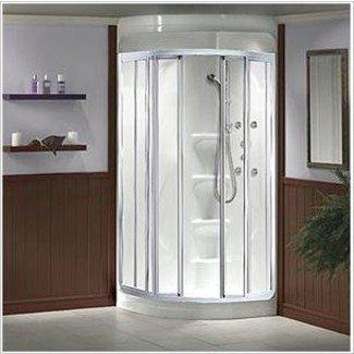 cuarto de baño de esquina recomendado para pequeñas ...