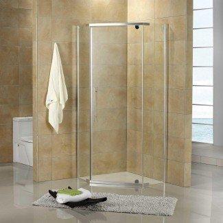Interior: cabinas de ducha de esquina para baños pequeños ...