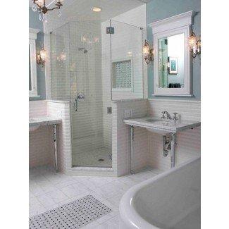 10 ideas para el diseño de la cabina de ducha que pueden poner su baño