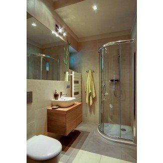 Ideas de duchas pequeñas para baños con espacio limitado