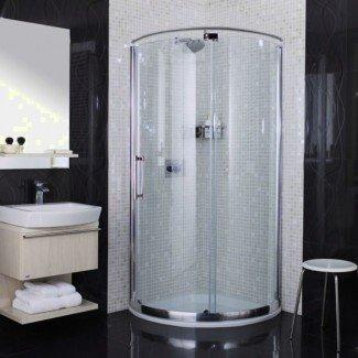 Interior: cabinas de ducha de esquina para baños pequeños Esquina ...