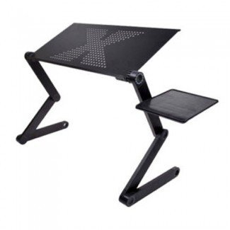 Bandeja de soporte de mesa para computadora portátil para sofá cama Negro · Tienda Dpthings