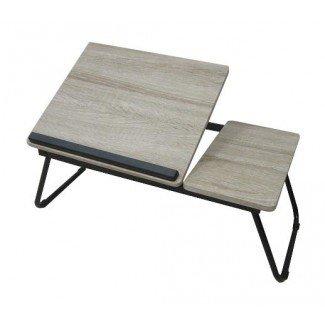 Mesa para bandeja para laptop con patas plegables
